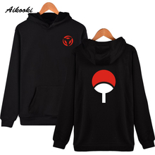 Aikooki Naruto Hoodies Sweatshirts Uchiha Syaringan Hooded Boys Fashion Hokage Ninjia Men/women Classic Cartoon printed Clothes