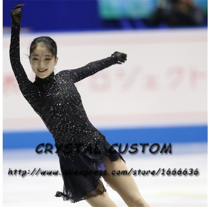 2019 Crystal Custom Figure Skating Dresses Girls New Brand Ice Skating  Dresses For Competition DR4546 From Ritalei, $563.35 | DHgate.Com