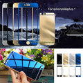 With Logo Mirror Tempered Glass Front + Back Screen Protector For Apple iphone 6S& Plus