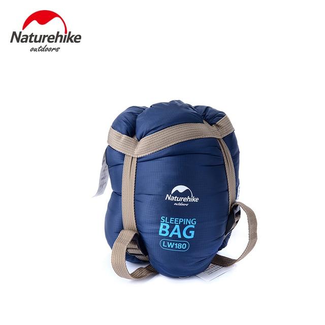Naturehike sleeping bags Outdoor Camping hiking Spring Autumn Outdoor Camping hiking NH Envelope Sleeping Bag 205*85cm 4