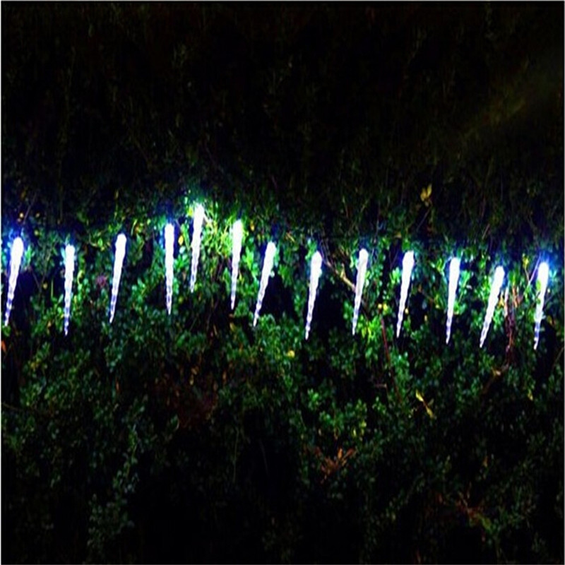 Holiday Lighting 5M 28 LED Icicle Home Xmas Decoration Christmas Lights Outdoor Waterproof Fairy String Lights