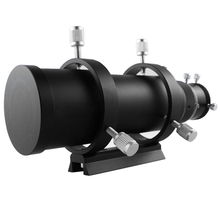 Datyson 50mm Guide Scope Fully Coated Guidescope Finder Eyepiece with 1.25  Helical Focuser