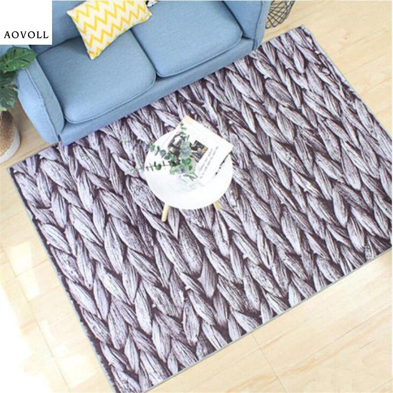 AOVOLL créatif personnel doux tapis pour salon chambre enfant chambre tapis maison tapis plancher porte tapis mode nouveau chaud zone tapis