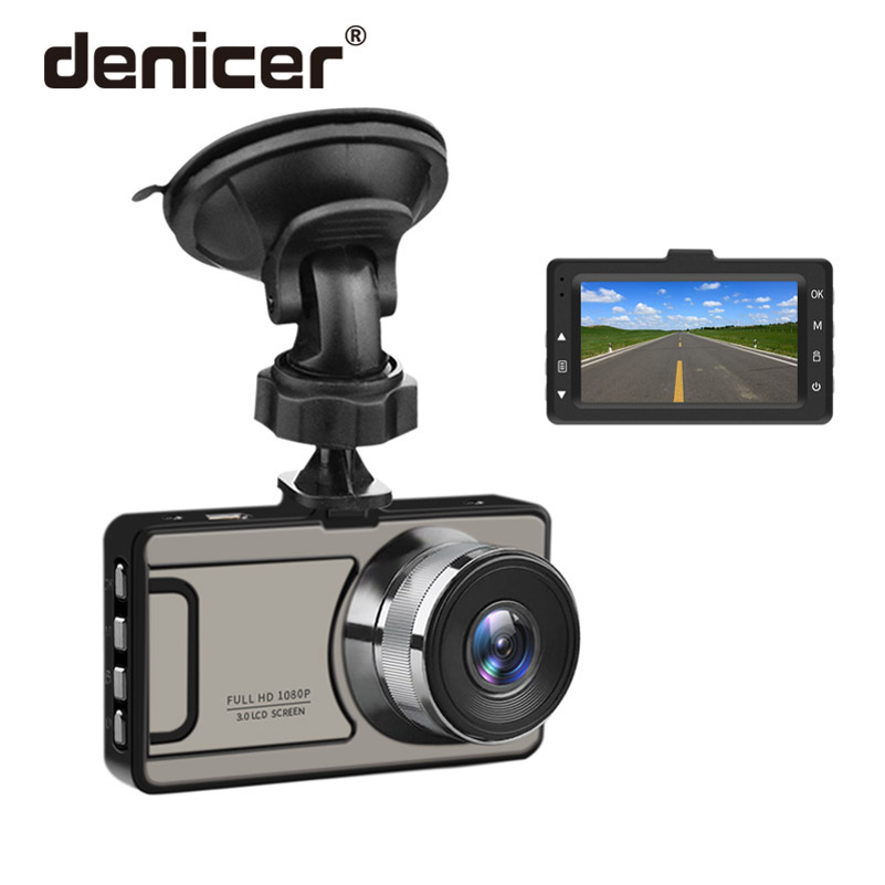 Denicer Dash Cam 3 0 Inch Screen Camera Full HD 1080P Car Vehicle Registrartor Video Recorder