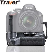 Travor Battery Grip Houder Voor Nikon D5100 D5200 D5300 DSLR Camera werk met EN-EL14(China)