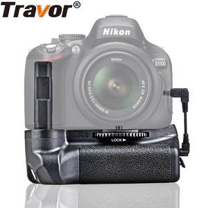 Travor EN-EL14 Holder For Nikon D5100 D5200 D5300 Battery Grip DSLR Camera work with