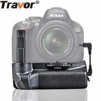 Travor Battery Grip Holder Per Nikon D5100 D5200 D5300 DSLR di lavoro Della Macchina Fotografica con EN-EL14