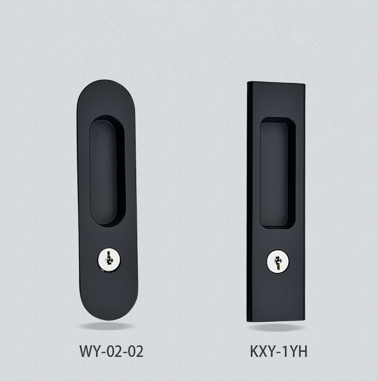 все цены на  European style simple shift door lock kitchen lock bathroom balcony sliding handle hook lock black hardware  онлайн