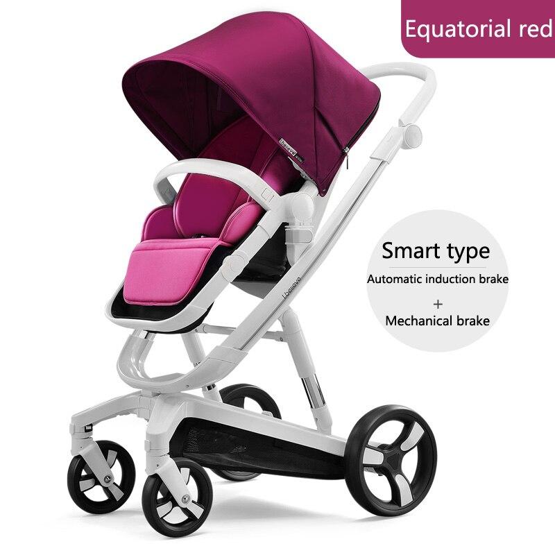 Baby stroller folding Smart stroller reversible Car Seat
