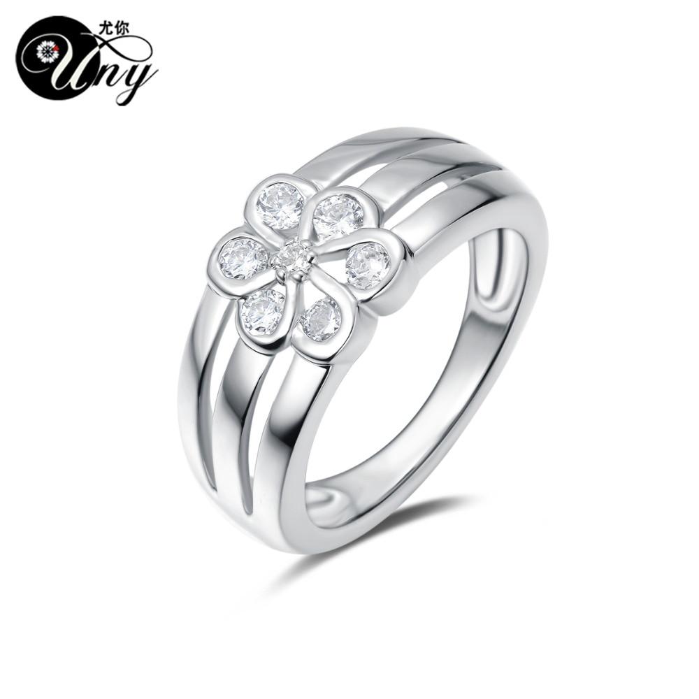 UNY anneau personnalisé gravure personnalisé mères anneaux 925 argent personnalisé graver anneau bricolage saint valentin femme cadeau anneaux