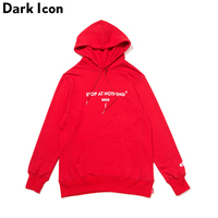 DARKICON Stop At Nothing Camouflage Mens Hoodie Terry Material Cotton Good Quality Men Women Sweatshirts And