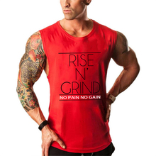 Bodybuilding Men Tank Top Stringer Man Fitness Singlet Cotton Vest Clothes Golds Gyms Yoga Shirt Sleeveless GASP Muscle Hip Hop
