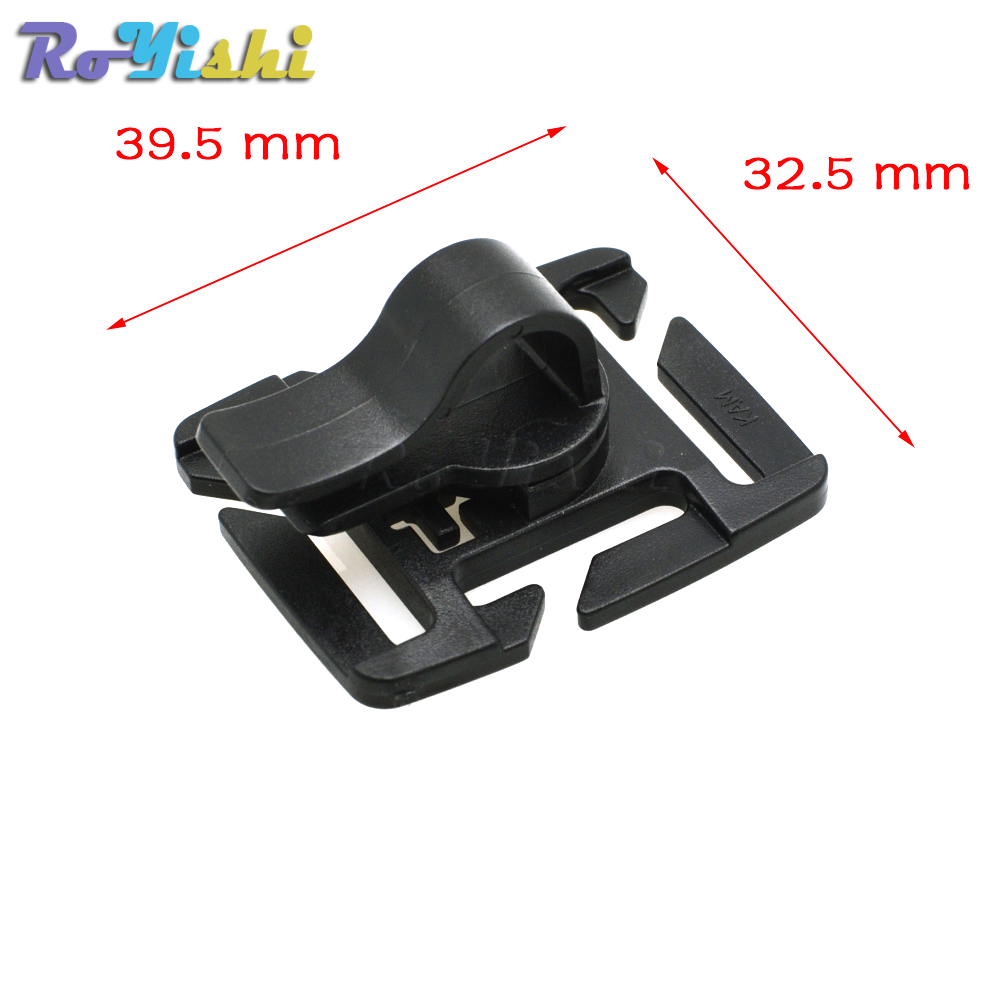 Details about  /5pcs MOLLE Rotation Sternum Strap Tube Pipe Clip Holder Buckle Webbing 25mm