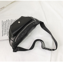 AUTUMN SOUND Travel Running Belt Bag Phone Pouch Casual Bum Durable PU Leather Waist Men Multi Zipper Pockets Fanny Pack