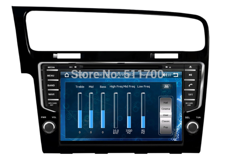 9 Inch 2 Din Car DVD Player Volkswagen/VW Golf 7(2013-2014),Radio,Stereo,Bluetooth,GPS Navi,Auto Indash Multimedia - Xinshun Technology Ltd. store