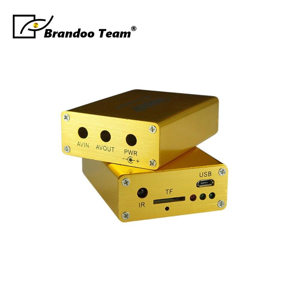 1080 P 1 canal CCTV DVR prise en charge carte SD 128 GB 5 V-30 V alimentation IR télécommande