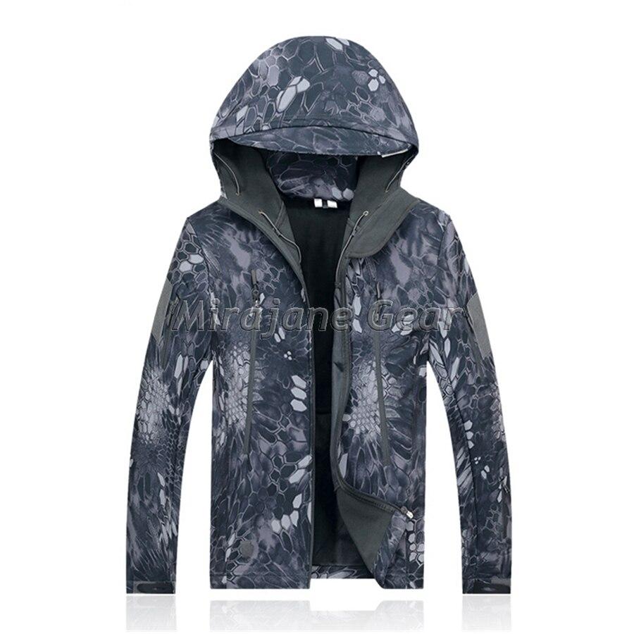 Kryptek noir Camouflage TAD Style de vêtements Softshell veste hommes veste en plein air vent imperméable livraison gratuite