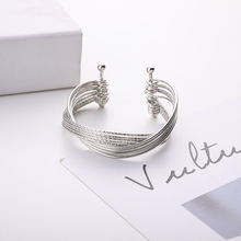 Fashion Ladies Bracelet Metal Exquisite Simple Jewelry Party Wedding Creative Holiday New Gift