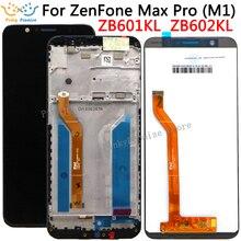 شاشة LCD مقاس 5.99 بوصة لـ Asus ZenFone Max Pro ( M1 ) ZB601KL ZB602KL شاشة LCD تعمل باللمس مع مجموعة رقمية