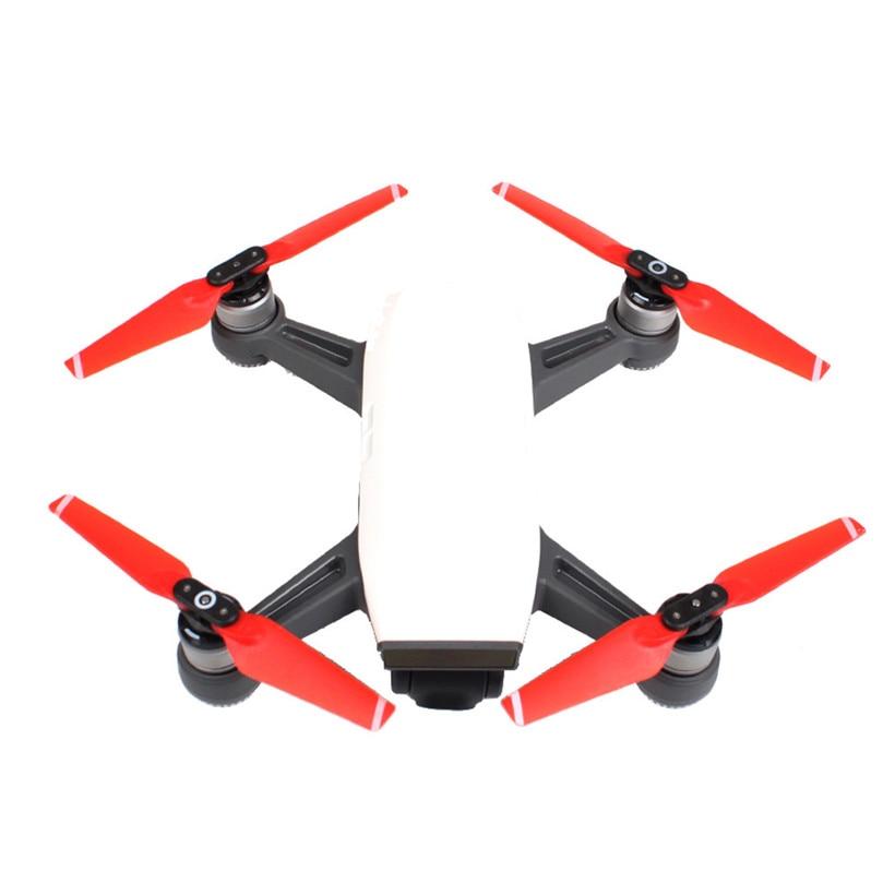 Rusia sólo 2 uds hélices para DJI Spark Drone hoja plegable 4730F Props RC piezas de repuesto 202 Hélice    - AliExpress