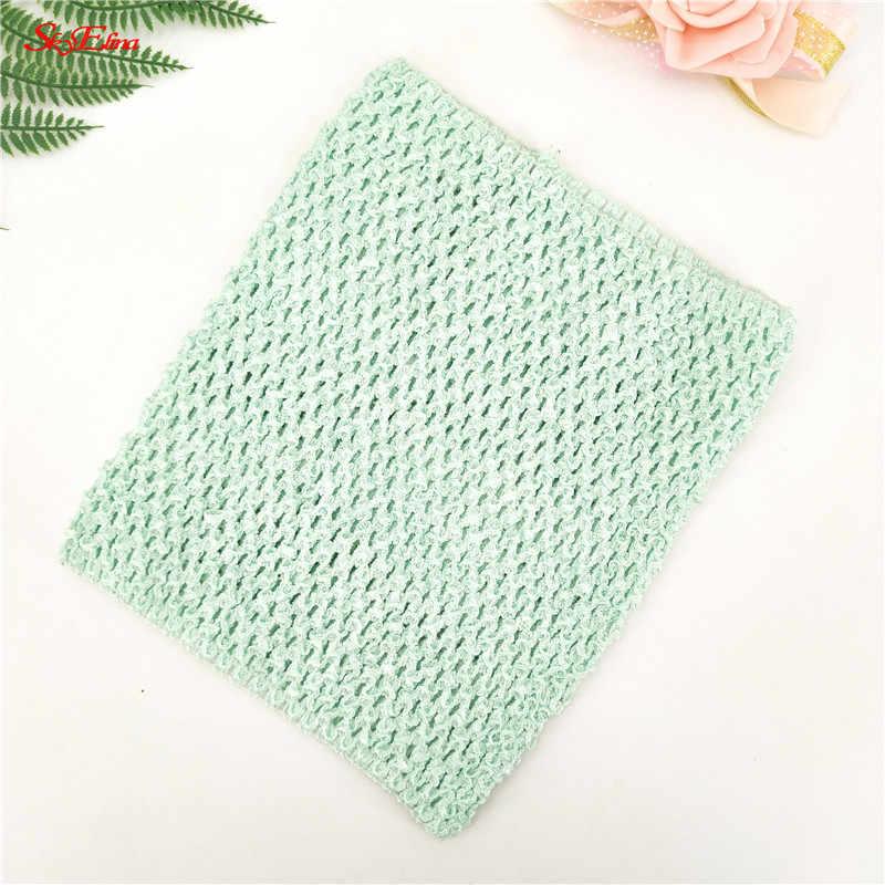 e8bbf9d81ba ... Baby Girl 20 23CM 9 Inch Crochet Tutu Tube Tops Chest Wrap Wide Crochet  Tops ...
