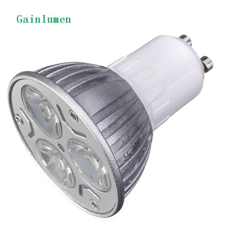 High power Epistar spot light GU10 E27 MR16 GU5.3 220V 230V 240V 12V 9W LED down Light Bulb lamp spotlight Warm White/White