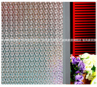 Opaque Embossed Colorful Crystal Frosted Window Films Heat Transfer Vinyl Self Adhesive Privacy Glass Stickers Length