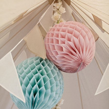 Free Shipping 10 pcs/lot 16(40cm) Hanging Wedding Decoration Round Tissue Paper Honeycomb Balls paper lanterns