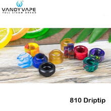 Original Vandy Vape Drip Tips 810 Driptip Mouthpiece for Electronic Cigarette Vandyvpae 810 Atomizers Pulse X BF RDA Tank(China)