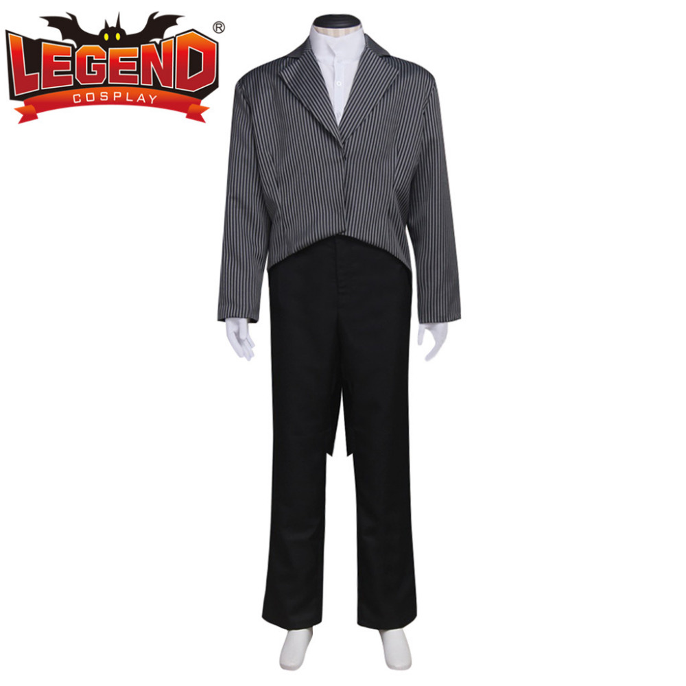 The Nightmare Before Christmas Jack Skellington Cosplay Costume Suit ...