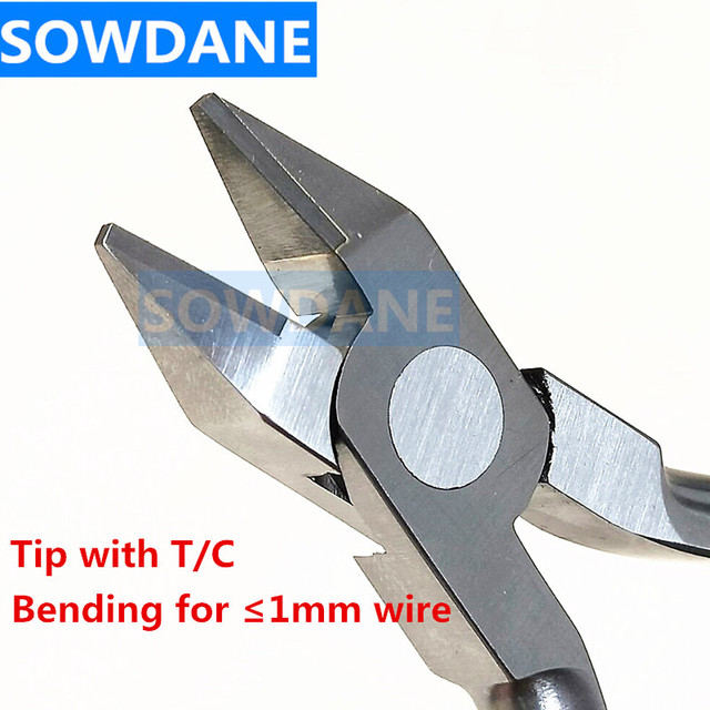 New Adam Wire Bending Pliers 13CM Dental Orthodontic Plier with T/C Lab Instrument For Max for 1mm Wire