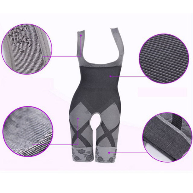 Charcoal Sculpting Slimming Suits