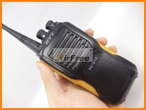 Image 5 - HYT TC 610 5 واط المحمولة اتجاهين راديو مع بطارية ليثيوم أيون HYTERA TC610 طويلة المدى لاسلكي تخاطب UHF VHF راديو الأعمال