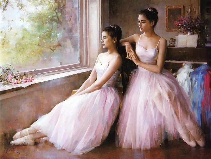 naked female ballet dancers