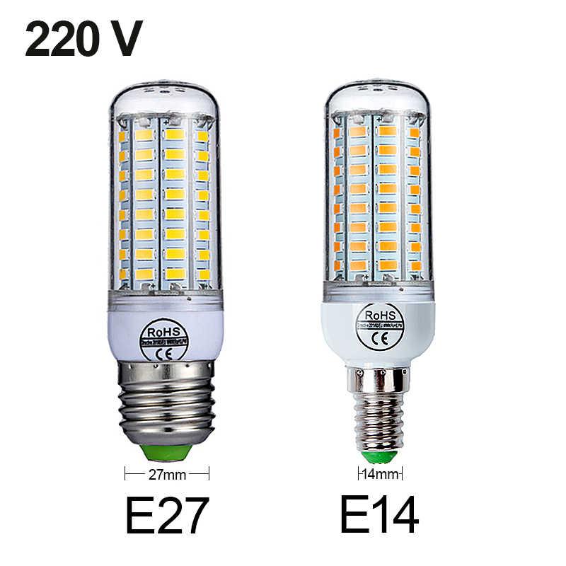 Goodland E27 ledランプ 220v led電球smd 5730 E14 ledライト 24 36 48 56 69 72 ledトウモロコシ電球用照明
