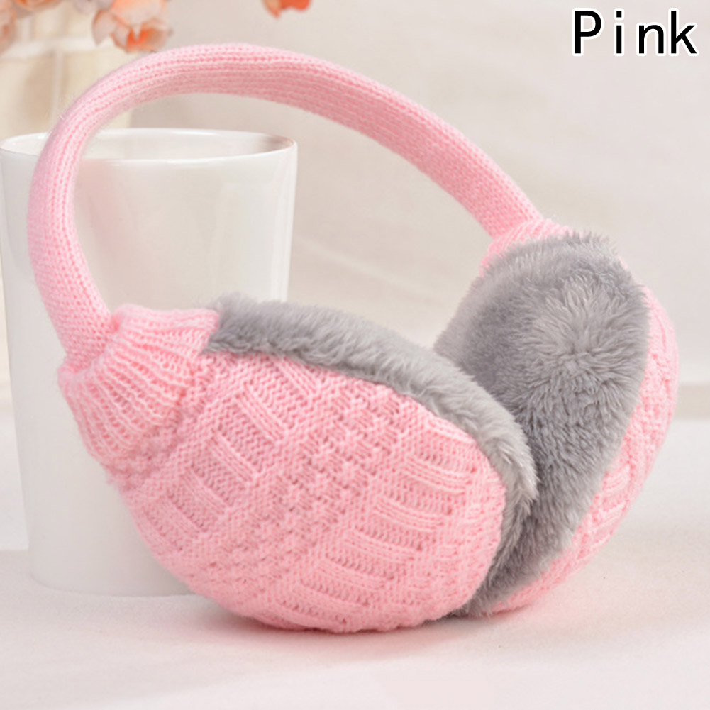 fashion winter knitted earmuffs for women winter ear. Black Bedroom Furniture Sets. Home Design Ideas