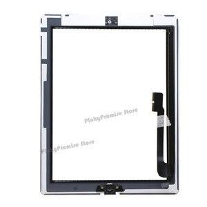 Image 5 - לוח מגע מסך עבור iPad 3 iPad3 A1416 A1430 A1403 Digitizer זכוכית פנל 9.7 inch עם לחצן בית + מתנה