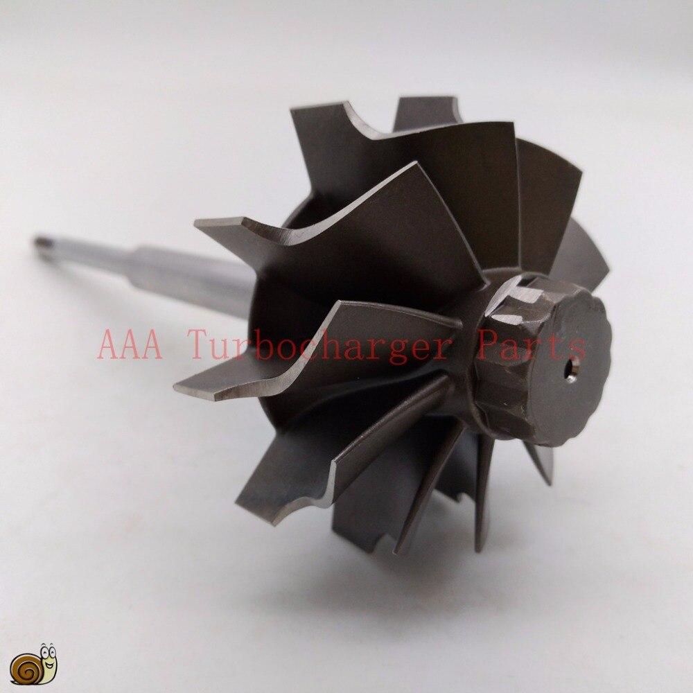 HX35W Turbo parts Turbine wheel 60x70mm 10blades supplier AAA Turbocharger Parts