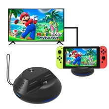 Type-C HDMI With PCB Board For Nintend Switch Portable TV Converter Charging Dock For Nintendos Switch Cooling Stand black
