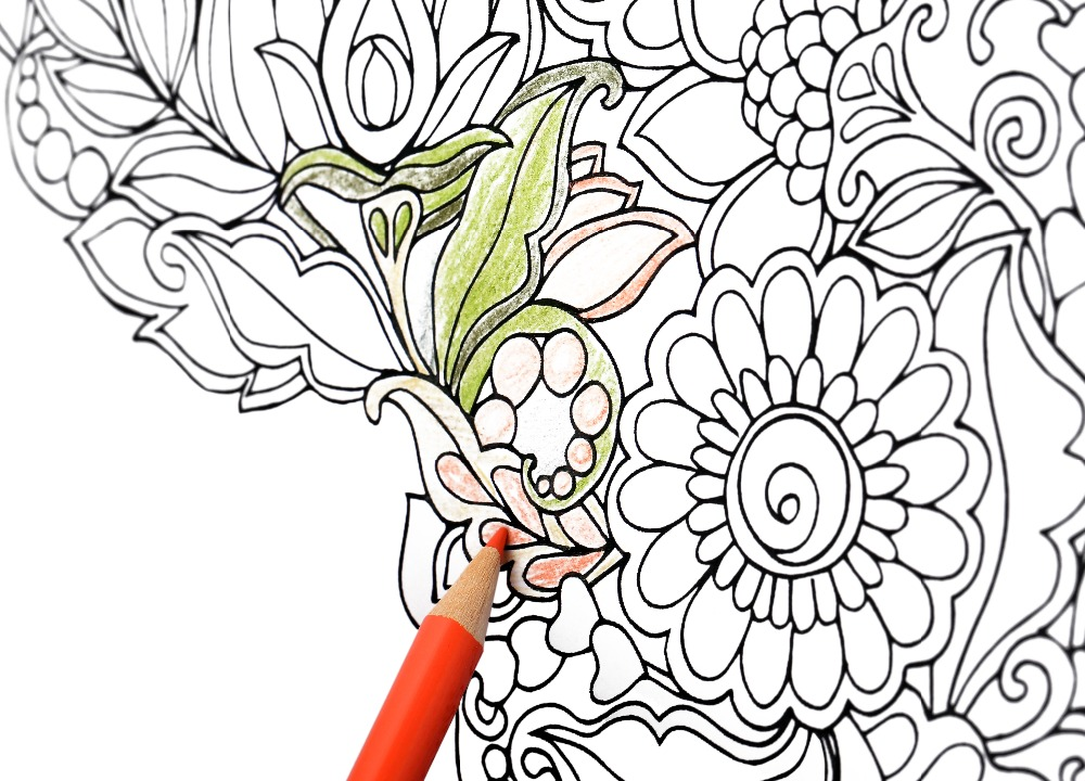 1 PC Secret Garden Adult Coloring Book 96 Pages 185185cm Designs Stress Relief Mandalas In Books From Office School