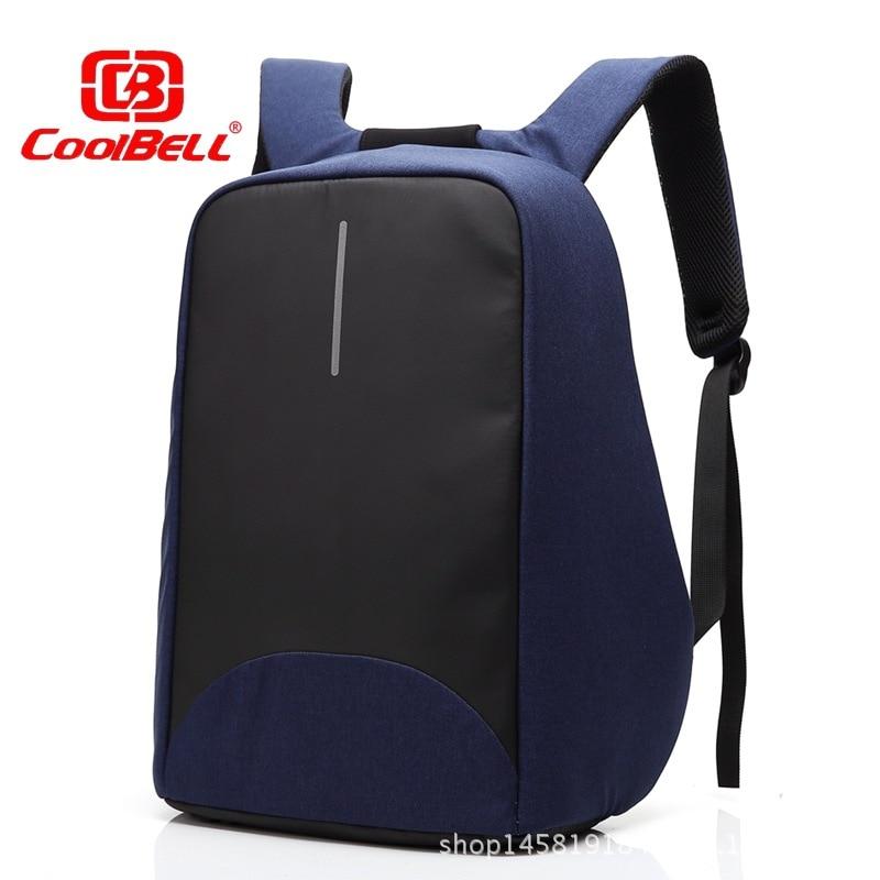 f0066b7491d Coolbell 15 laptop mochila saco de viagem de negócios dos homens e das  mulheres anti-roubo duplo ombro bolsa de computador saco frete grátis