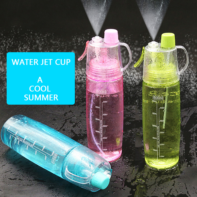 Mini Water Bottle A5 Leak Proof Flat Juice Container Portable Green 501-600ml