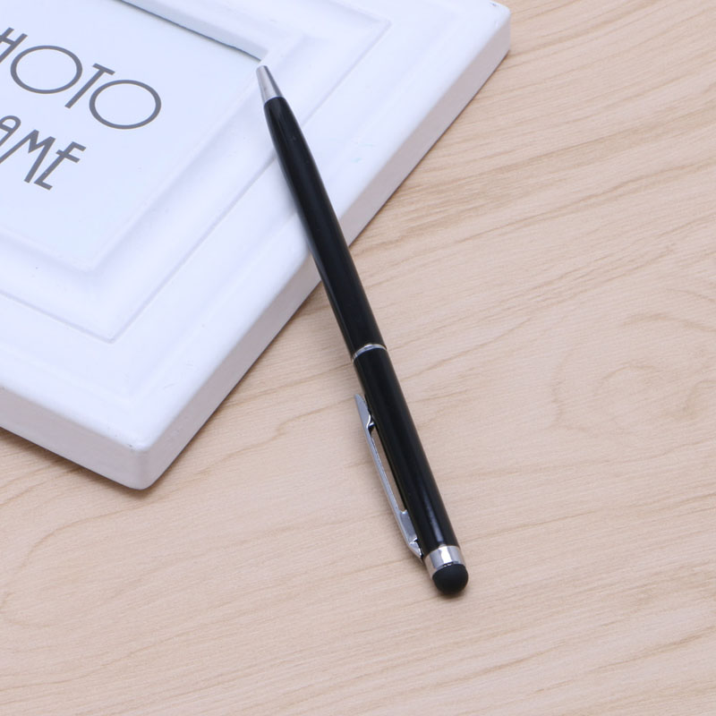 OOTDTY Stylish Slim 2 in 1 Ballpoint Pen Capacitive Stylus For iPhone iPad font b Tablets