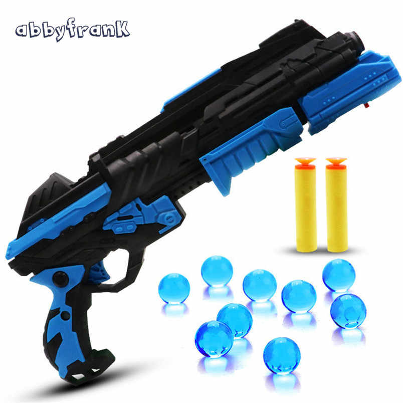 Abbyfrank Infrared Light Toy Gun Water Soft Bullet Night Game For Boys Arma De Brinquedo Outdoor Toys For Children Toys