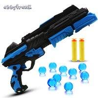 Abbyfrank Infrared Light Toy Gun Water Soft Bullet Night Game For Boys Arma De Brinquedo Outdoor
