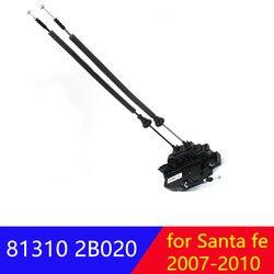 Dla hyundai Santa fe CM 2007-2010 przedni lewy LH siłownik zamka drzwi oryginalne 813102B020 81310 2B020