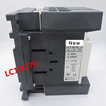 100%  Originla New  2 years warranty   LC1D170 AC contactor LC1D17000F7C LC1D17000M7C LC1D17000Q7C full silver contact 170A