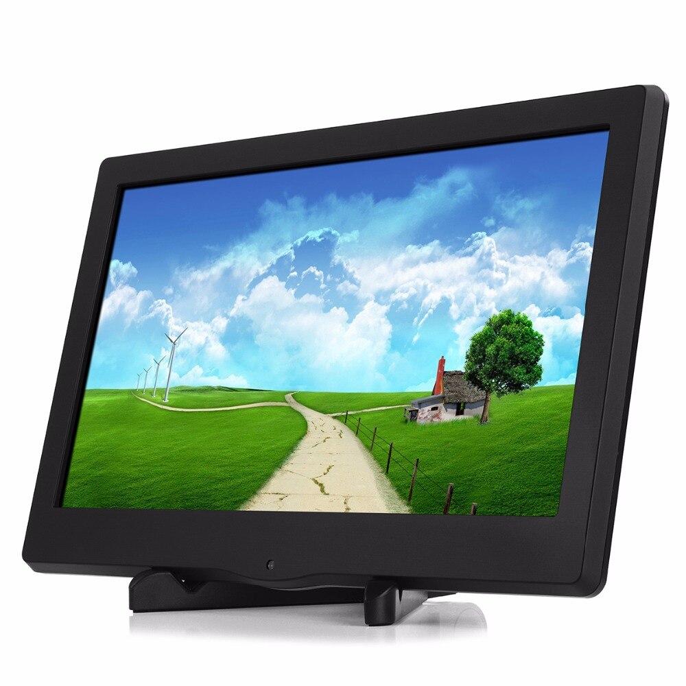 13.3 calowy 1080P przenośny monitor wyświetlacz LED 1920X1080 HDMI/VGA/DVI dla PS3 PS4 WiiU Xbox360 Raspberry Pi 3Bled displayportable led displaydisplay led -