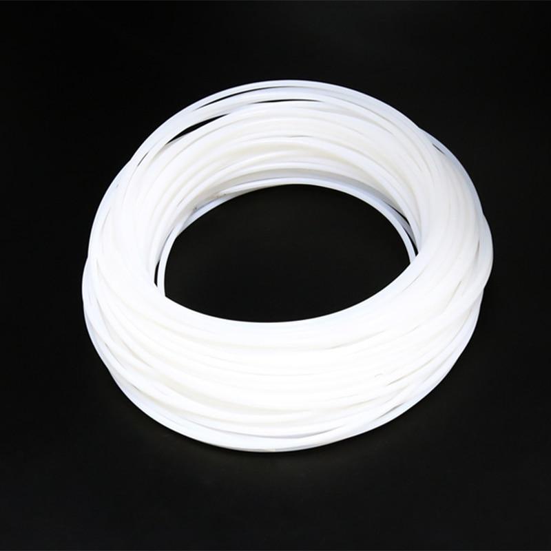 1M 2*4MM PTFE Teflon Long Distance Feed Tube for 1.75 mm/3.0mm Filament ptfe 1.75 RepRap Makerb/Mendel DIY 3D Printer Parts m6 feed shaft axis reprappro mendel huxley for 3d printer