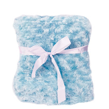 Lovely Infant Baby Warm Double Layer Blanket Swaddle Bedding